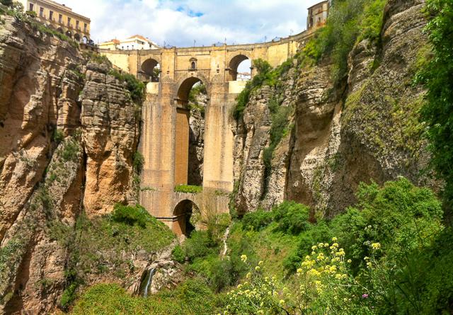 The Puente Nuevo in Ronda, Andalusia, Spain