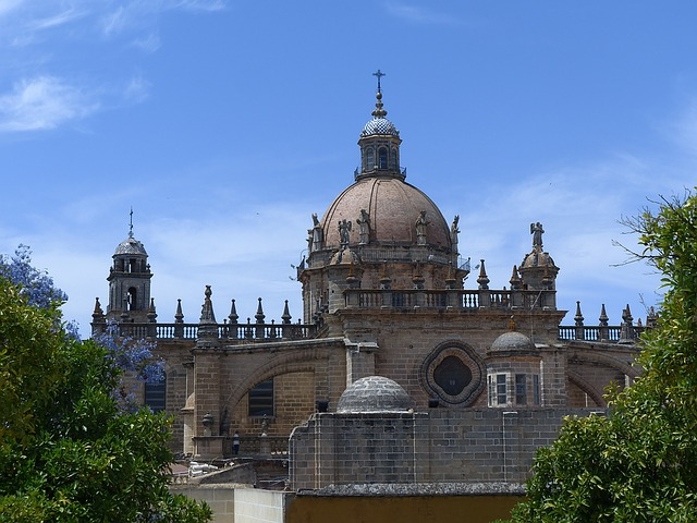 Jerez Cathedral Andalusia Spain