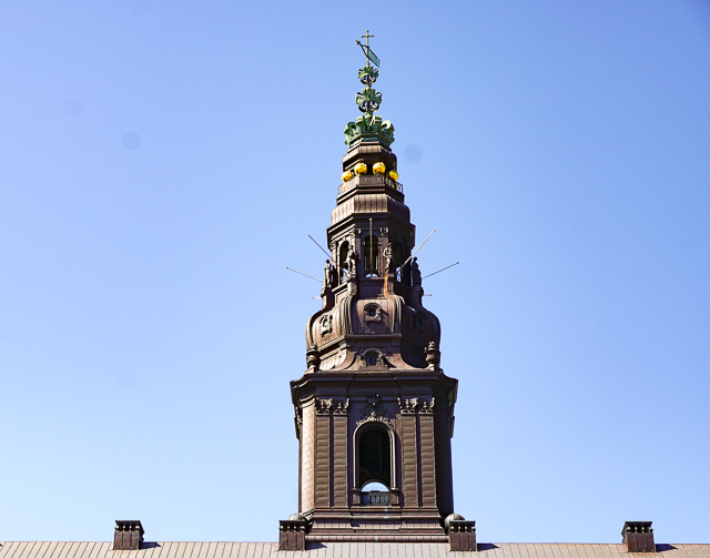 Christiansborg Palace Tower, Copenhagen, Denmark