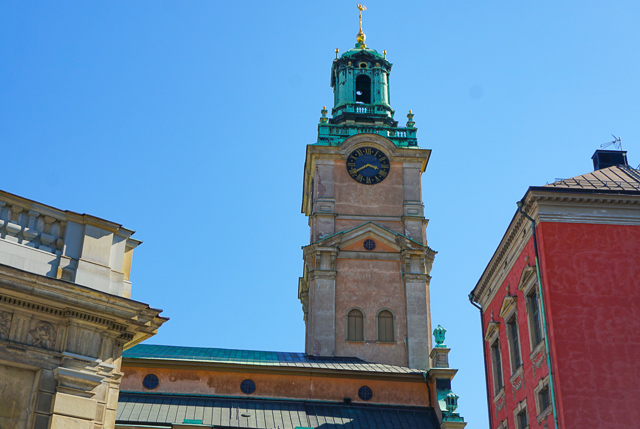 The Stockholm Cathedral in Gamla Stan Stockholm Sweden