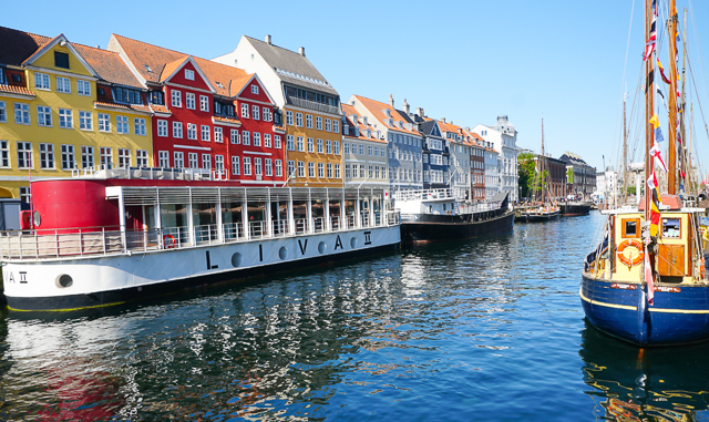 Nyhavn in Copenhagen, Denmark, is a must-visit on your one day in Copenhagen!