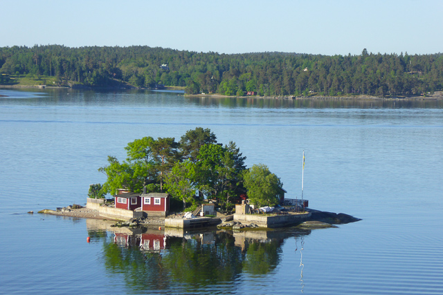 A tiny islet in the Swedish archipelago
