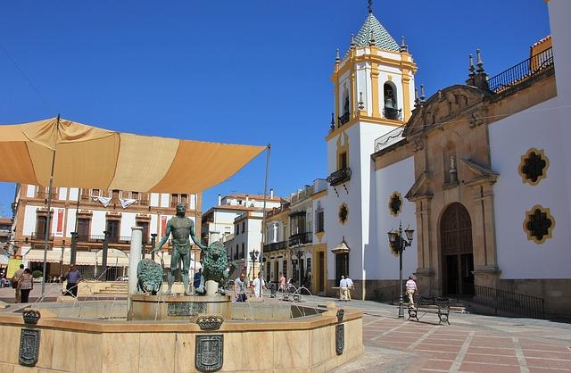 Plaza del Socorro Ronda Spain