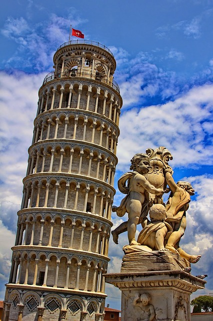 Leaning Tower Pisa Italy