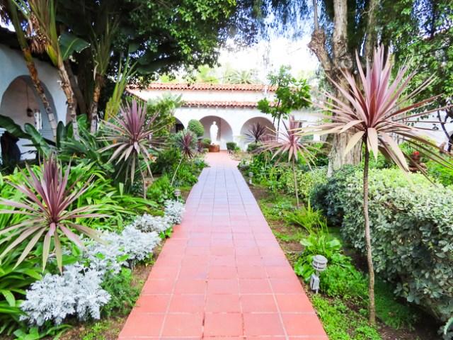 Gardens of the San Diego Mission, San Diego, California