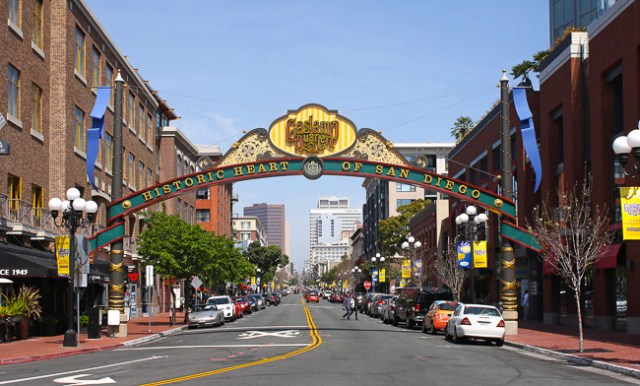 Gaslamp Quarter San Diego California