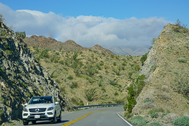 The Scenic Palms to Pines Byway in California makes for a fabulous day trip from Palm Springs