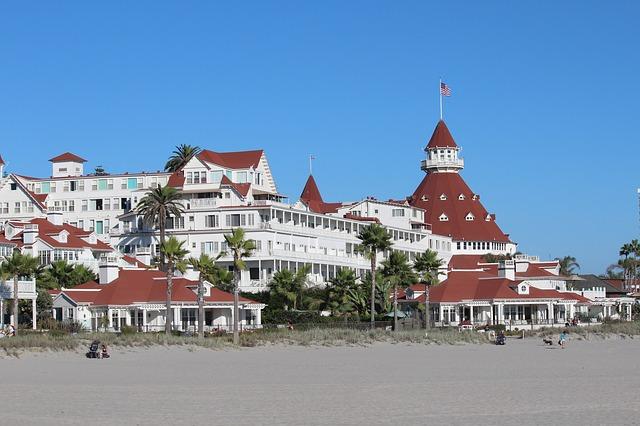 Hotel del Coronado, Coronado Island, San Diego, California