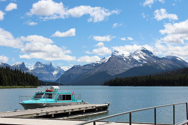 Lake in the Canadian Rockies