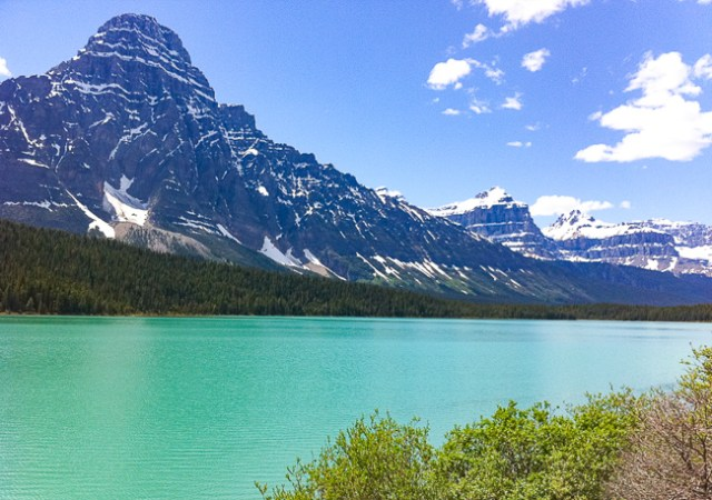 Lower Waterfowl Lake Banff Canada