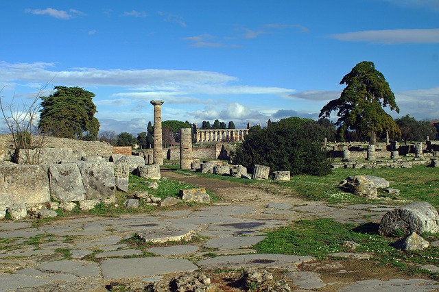 The Paestum archaeological site in Campania, Italy, is a must-do day trip from Sorrento!