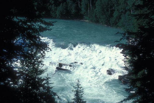 Rearguard Falls Canadian Rockies