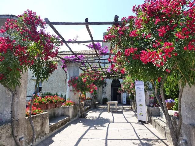 Villa Rufolo Gardens Ravello Italy
