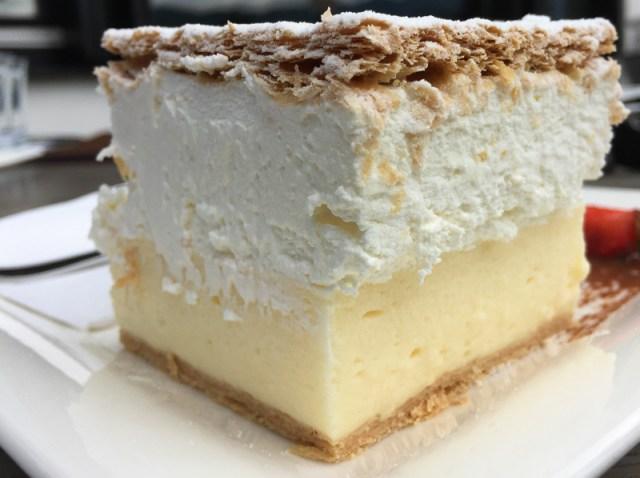 Bled Cream Cake Hotel Park Slovenia