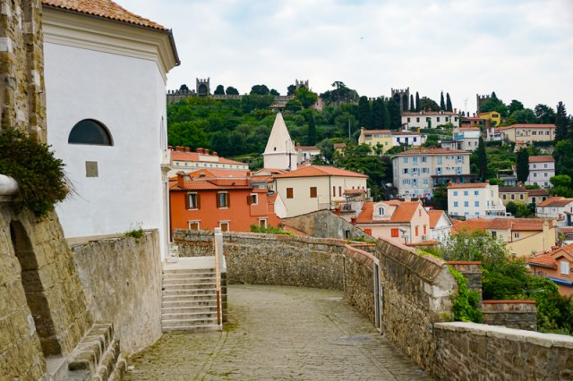 Church of St. George Piran Slovenia