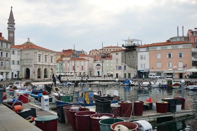 Piran Slovenia retains some if its fishing village charm