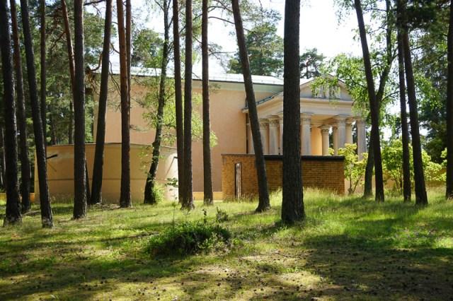 Resurrection Chapel Woodland Cemetery Stockholm Sweden