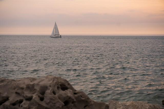 View Sunset Piran