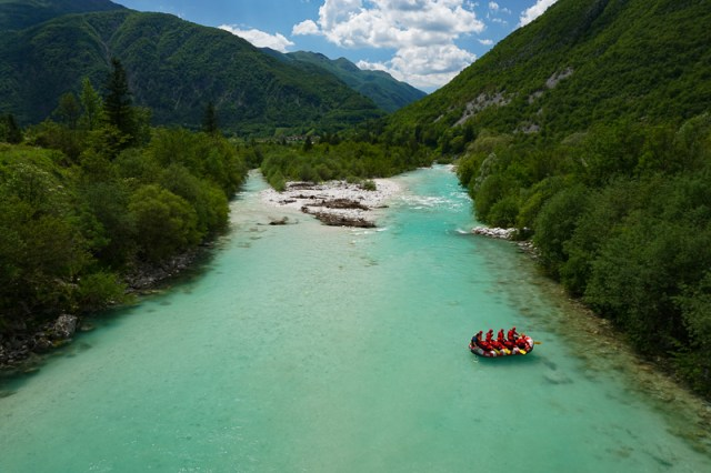 River Rafting Soca River Slovenia