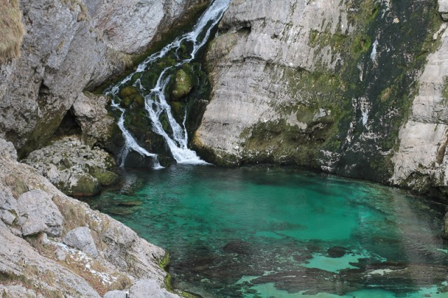 Savica Waterfall Slovenia