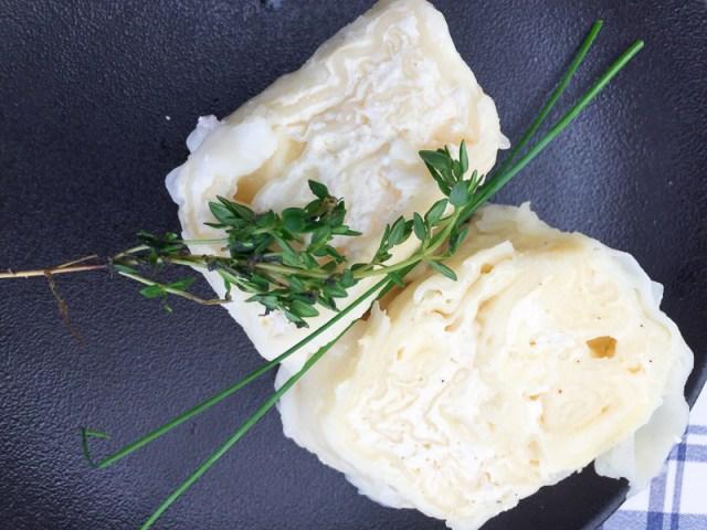 Struklji filled with cheese in Ljubljana Slovenia