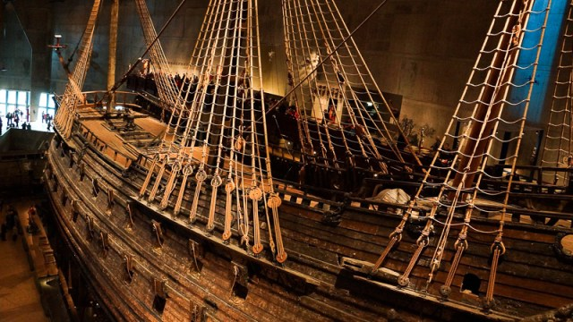 Visiting the Vasa Museum is one of the best things to do in Stockholm!