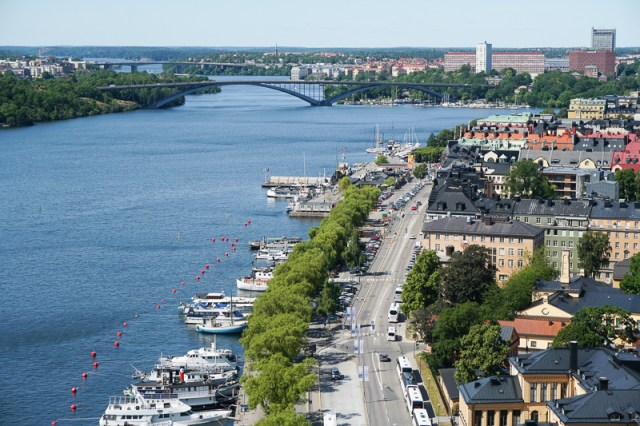 View from Stockholm City Hall Tower