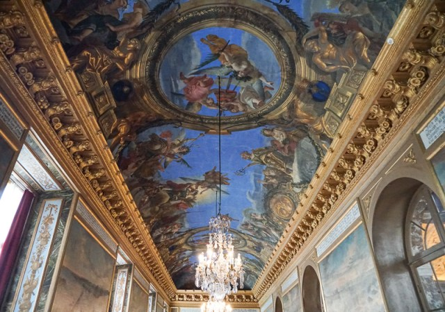 A Ceiling at Drottningholm Palace in Sweden