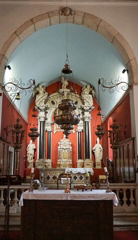 Altar, St. Nikola Church, Perast, Montenegro