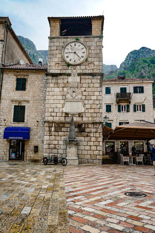 Clock Tower Old Town Kotor Montenegro