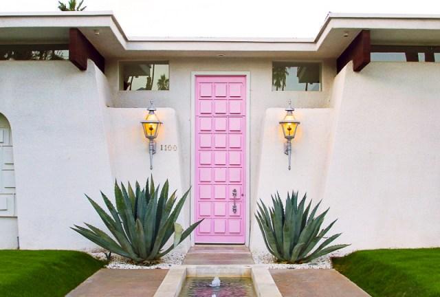 Pink Door Palm Springs California