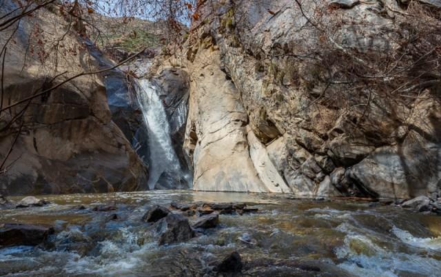 Tahquitz Canyon Waterfall near Palm Springs California