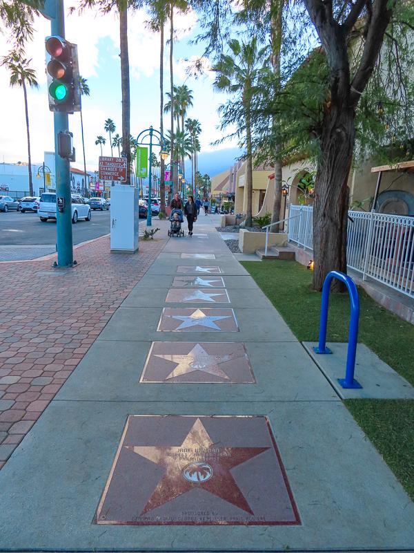 Walk of Stars Palm Springs California