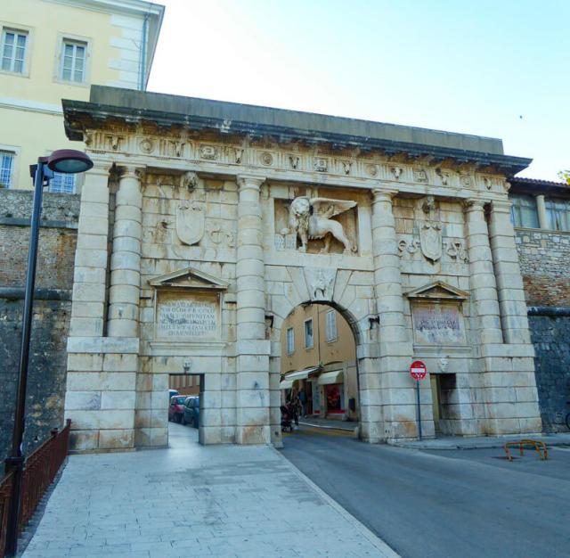 Land Gate Zadar Old Town Croatia