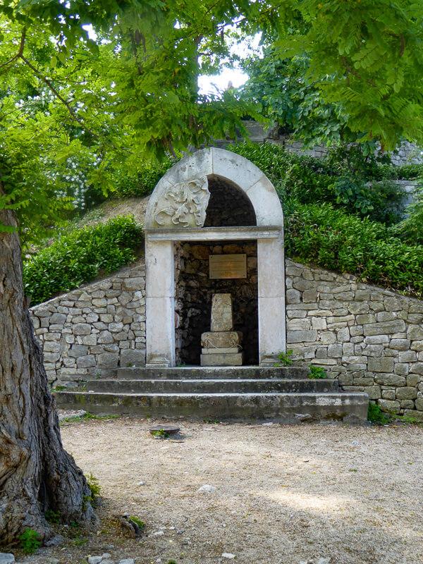 Queen Jelena Madijev Park Zadar Croatia