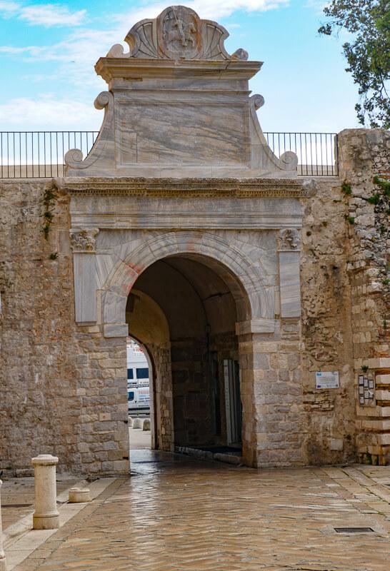 Sea Gate, Zadar, Croatia
