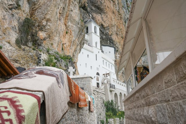 The Ostrog Monastery in Montenegro