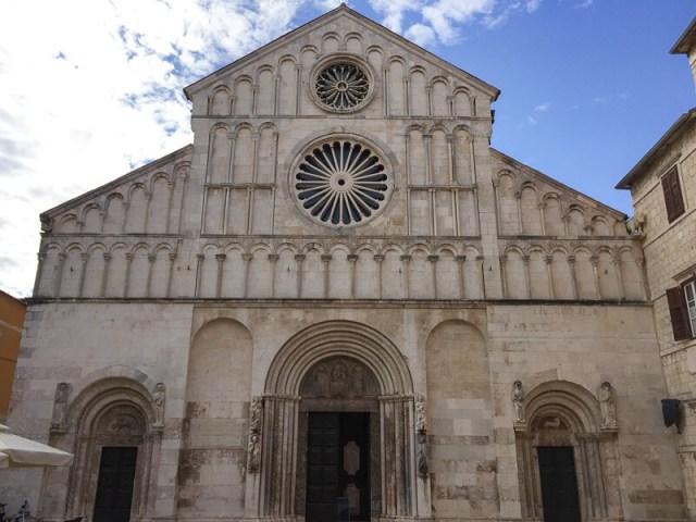 Church of Saint Donatus in Old Town Zadar Croatia
