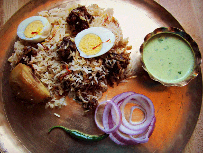 Best Calcutta mutton biriyani recipe with step by step instructions