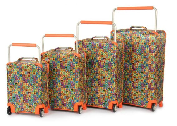 World's lightest luggage