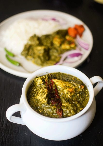 How to make the best Indian palak paneer?