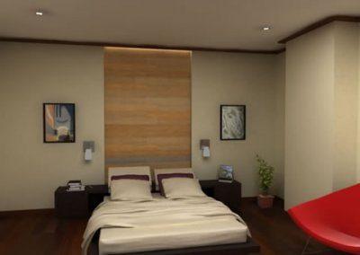 desain kamar set