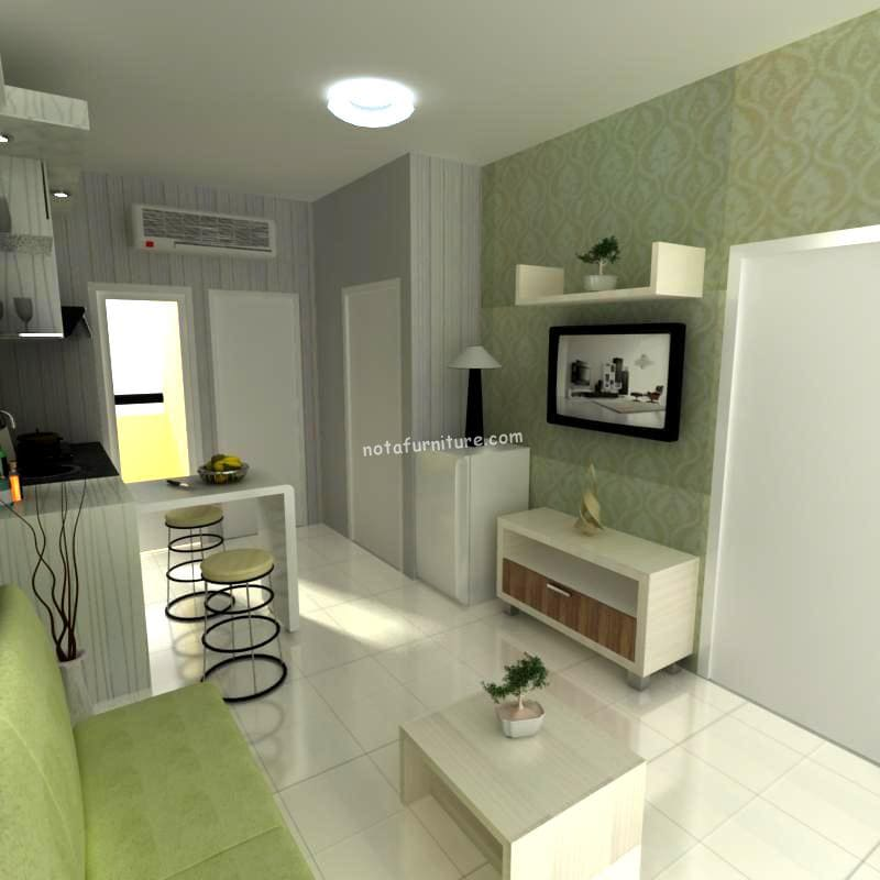 furniture apartemen minimalis desain menarik