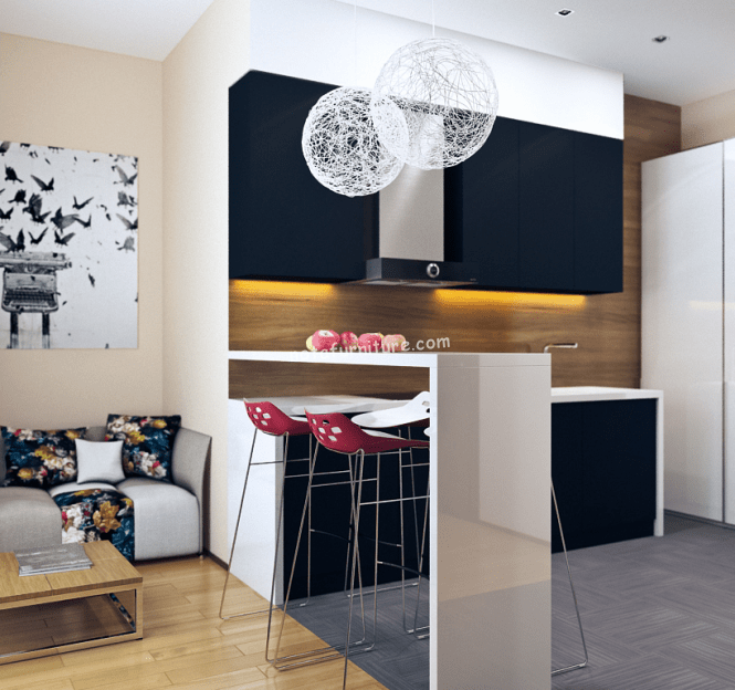 small-modern-kitchen-with-bar