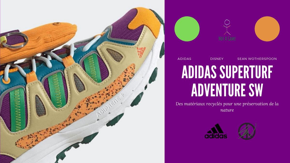 Adidas x Sean Wotherspoon, la nouvelle Superturf Adventure