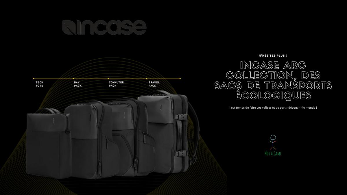 Incase ARC Collection, des sacs de transports écologiques