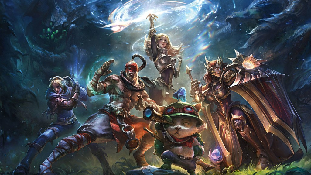 Do you know: How was League of Legends 6 years ago? 5