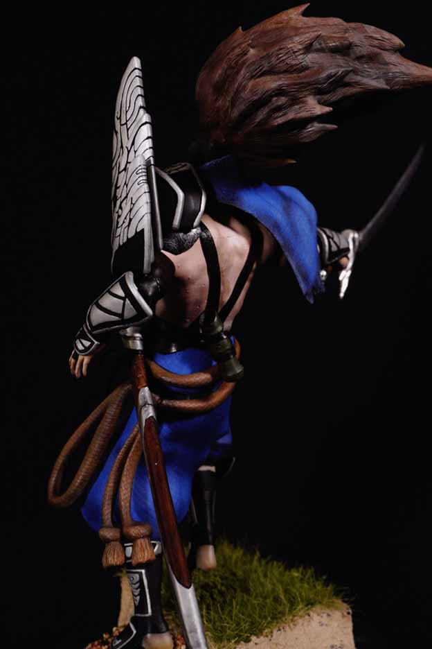 Yasuo figure and smashed it