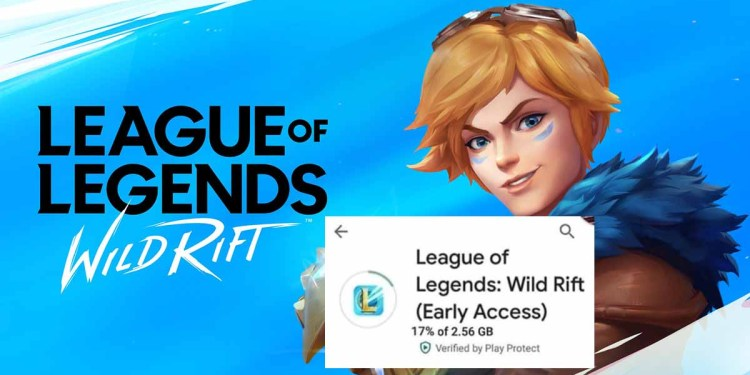 Doubt gamers showing off downloaded Wild Rift on Google Play? 1