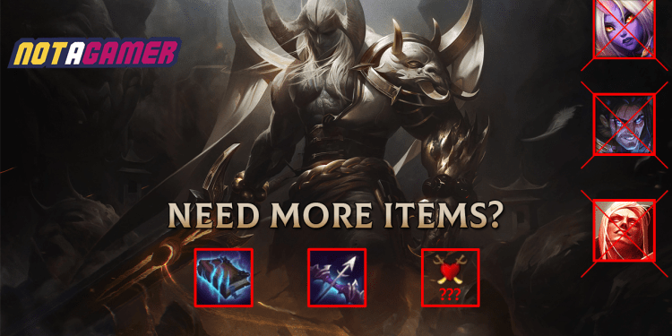 League of Legends needs more items to counter healing champions 1